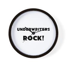 Underwriters ROCK Wall Clock