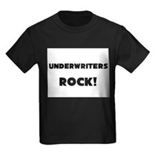 Underwriters ROCK Kids Dark T-Shirt