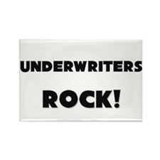 Underwriters ROCK Rectangle Magnet