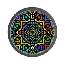 Colorful Celtic Knot Wall Clock