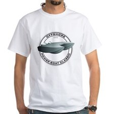 OFFSHORE POWERBOAT GRAPHIC WHITE T SHIRT