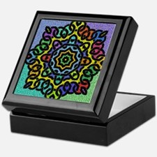Colorful Celtic Knot Keepsake Box