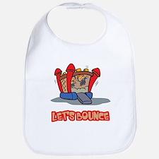 Let's Bounce Jump Castle Bib
