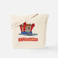 Let's Bounce Jump Castle Tote Bag