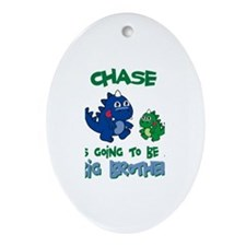 Chase - Brother To Be Oval Ornament
