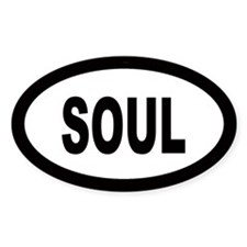 Soul Oval Decal