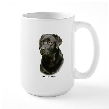 Labrador Retriever 9A054D-23a Large Mug