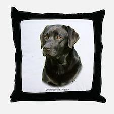 Labrador Retriever 9A054D-23a Throw Pillow