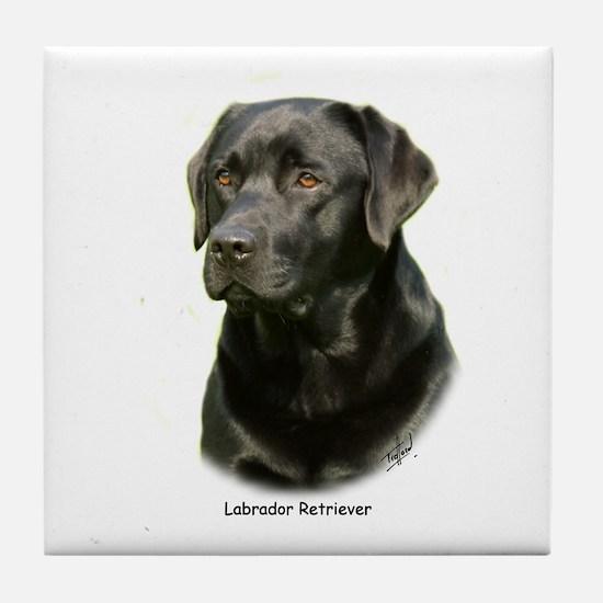 Labrador Retriever 9A054D-23a Tile Coaster