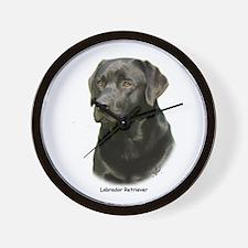 Labrador Retriever 9A054D-23a Wall Clock