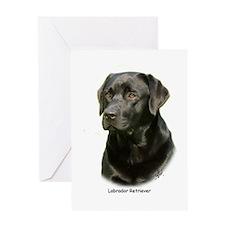 Labrador Retriever 9A054D-23a Greeting Card