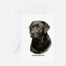 Labrador Retriever 9A054D-23a Greeting Cards (Pk o