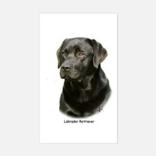 Labrador Retriever 9A054D-23a Sticker (Rectangle)
