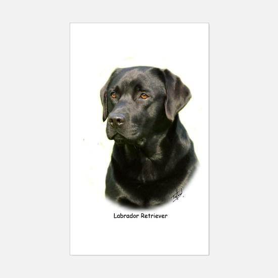 Labrador Retriever 9A054D-23a Sticker (Rectangle)