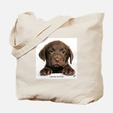 Chocolate Labrador Retriever puppy 9Y270D-050 Tote