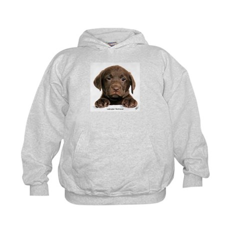 Chocolate Labrador Retriever puppy 9Y270D-050 Kids