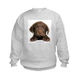 Chocolate labrador Crew Neck