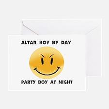 ALTAR BOY Greeting Card