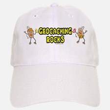 Geocaching Rocks Baseball Baseball Cap