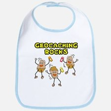 Geocaching Rocks Bib