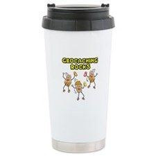 Geocaching Rocks Travel Mug