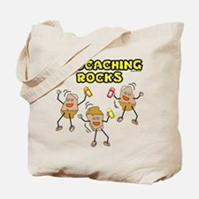 Geocaching Rocks Tote Bag