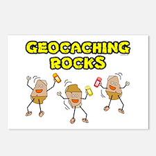 Geocaching Rocks Postcards (Package of 8)