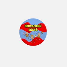 Geocaching Rocks Mini Button