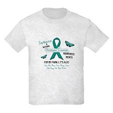 Ovarian Cancer Awareness Month 2.2 T-Shirt