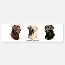 Labrador Retrievers Bumper Bumper Bumper Sticker