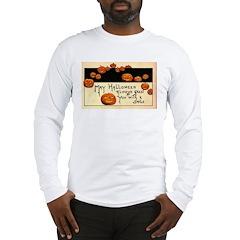 Halloween Greetings Long Sleeve T-Shirt