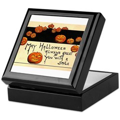 Halloween Greetings Keepsake Box