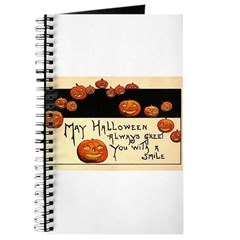 Halloween Greetings Journal