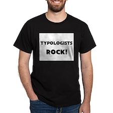 Typologists ROCK Dark T-Shirt
