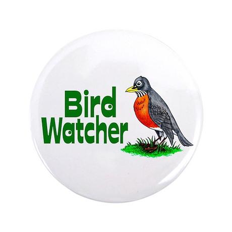 "Bird Watcher 3.5"" Button"