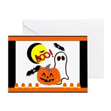 Halloween Boo Friends Greeting Card