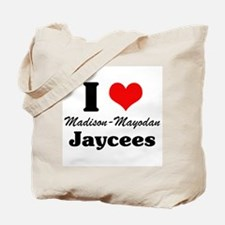 I Heart Jaycees Tote Bag