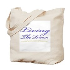 Living the Dream Stars Tote Bag