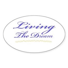 Living the Dream Stars Decal
