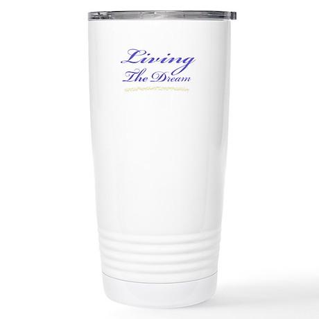 Living the Dream Stars Stainless Steel Travel Mug