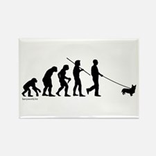 Corgi Evolution Rectangle Magnet (10 pack)