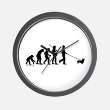 Corgi Evolution Wall Clock