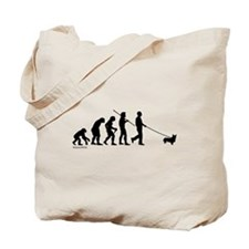 Corgi Evolution Tote Bag