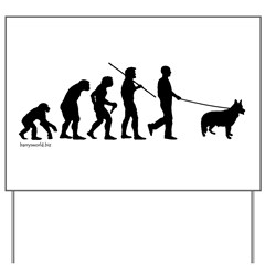 Ger. Shep. Evolution Yard Sign