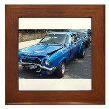 Chevy Vega Framed Tile