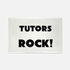 Tutors ROCK Rectangle Magnet