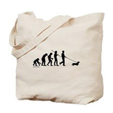 Dachshund Evolution Tote Bag