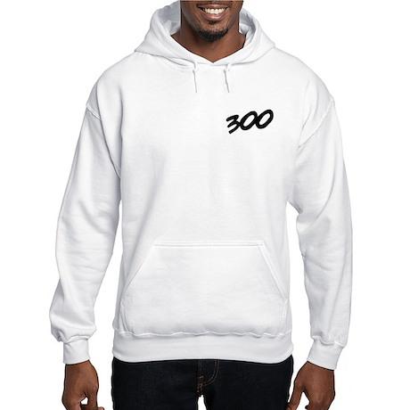 300 Club Bench Press Hooded Sweatshirt