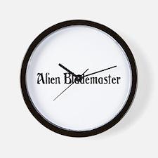 Alien Blademaster Wall Clock