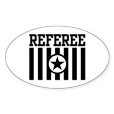 Referee Oval Decal